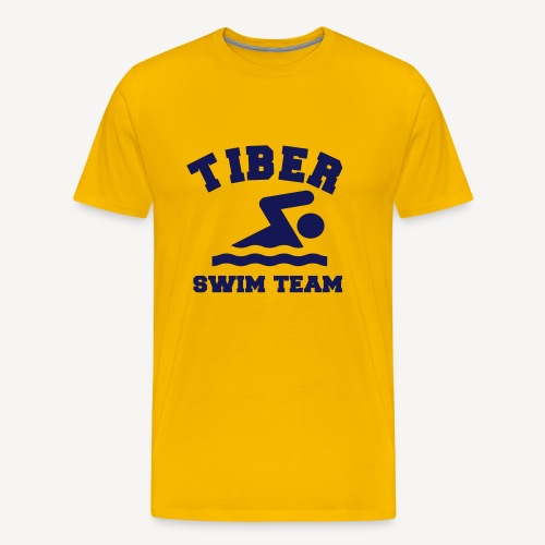 TIBER SWIM TEAM - Men's Premium T-Shirt