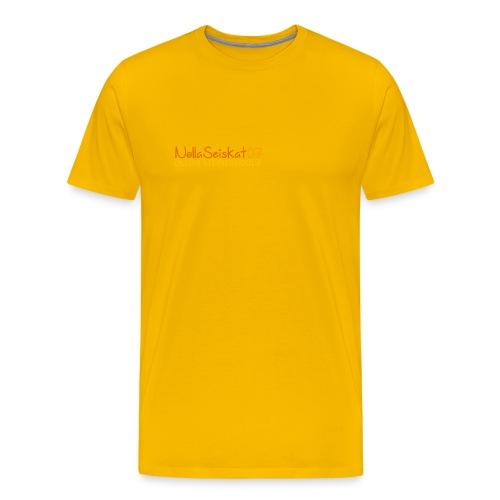 07-oulun-steiner-koulu-logo-merkki - Miesten premium t-paita
