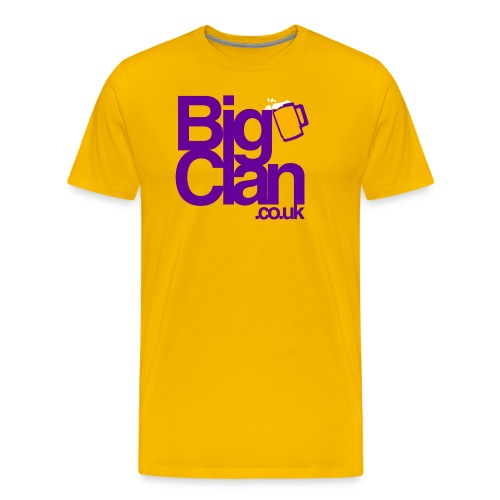 BIg Clan Logo Purple - Men's Premium T-Shirt