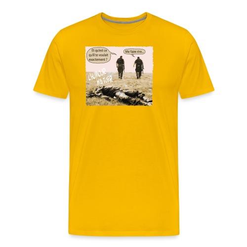 L'humour m'a tuer - T-shirt Premium Homme
