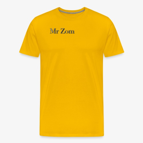 Mr Zom Text - Men's Premium T-Shirt