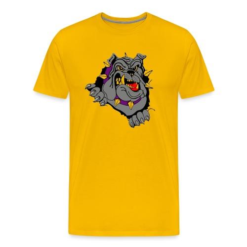 bulldog - Mannen Premium T-shirt