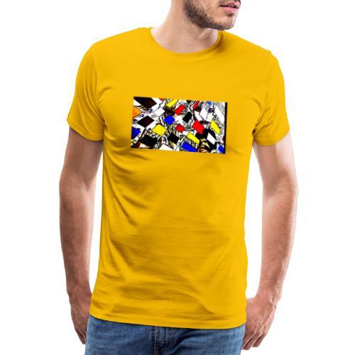 Karoselle Pop Art - Männer Premium T-Shirt