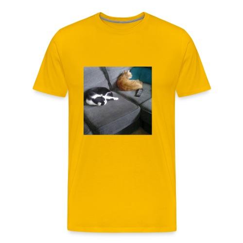 The Crazy Cute Cats - Men's Premium T-Shirt