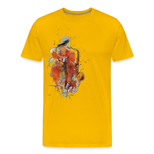 Jazz men - T-shirt Premium Homme
