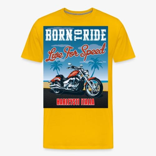 Summer 2021 - Born to ride - Maglietta Premium da uomo