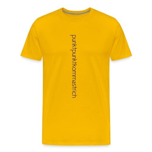 punktpunkt - Männer Premium T-Shirt