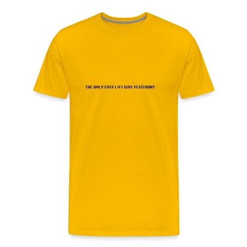 170106 LMY t shirt hinten png - Männer Premium T-Shirt