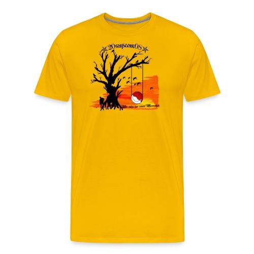 baumschaukelsupcom - Männer Premium T-Shirt