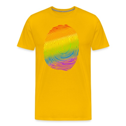 Huella LGBT - Camiseta premium hombre