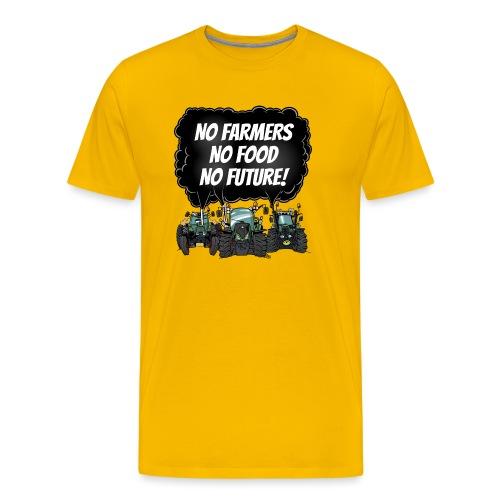 food tshirt F - Mannen Premium T-shirt