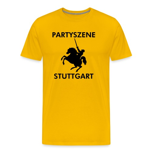 Partyszene Stuttgart - Männer Premium T-Shirt