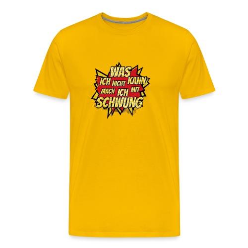 Mit Schwung - Männer Premium T-Shirt