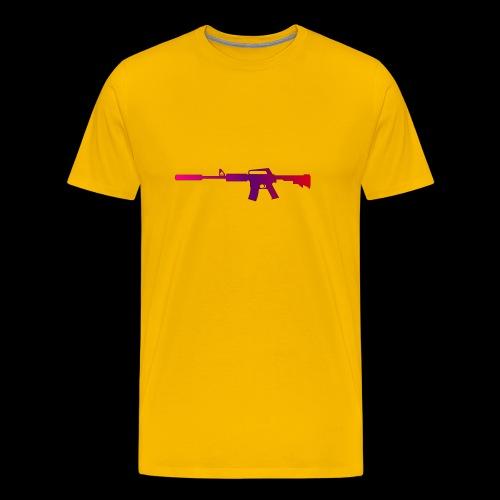 csgo m4a1 s fade - Premium-T-shirt herr