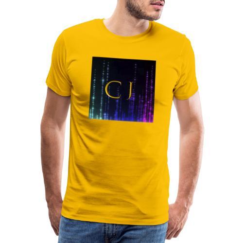 CJ Logo Merchandise - Herre premium T-shirt