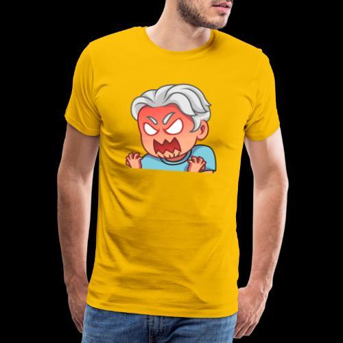 Locono Rage - Männer Premium T-Shirt