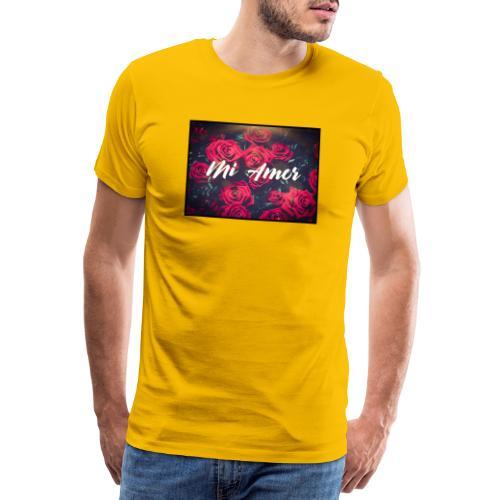 Mi amor - Männer Premium T-Shirt