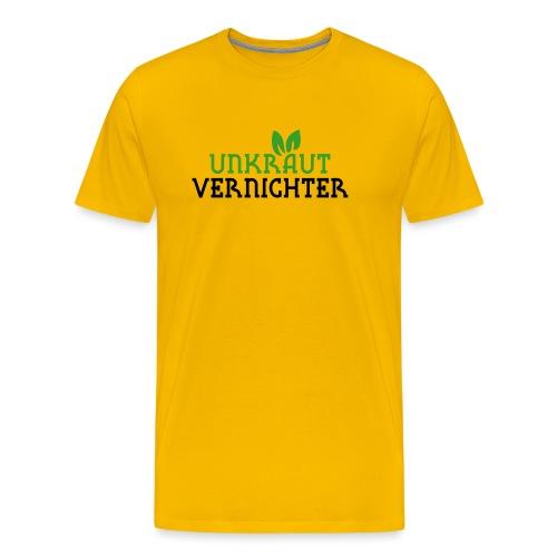 Unkrautvernichter - Männer Premium T-Shirt