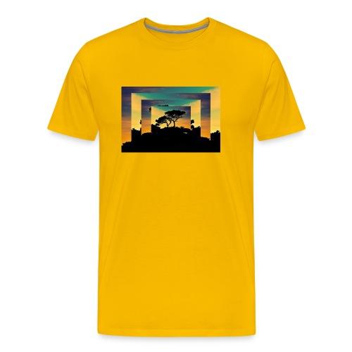 Natur Africa - Männer Premium T-Shirt