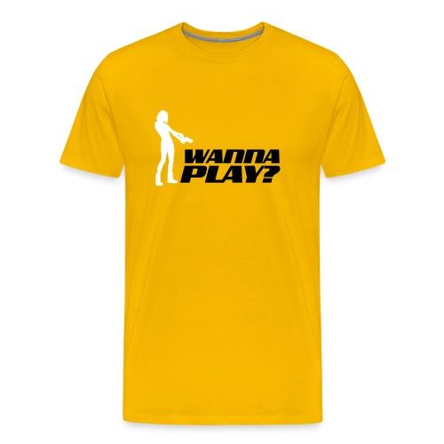 Wannaplay - Männer Premium T-Shirt