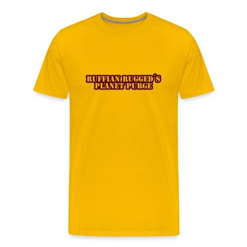 Ruffian Rugged aka Def Ill - MerchPlanet Purge - Männer Premium T-Shirt