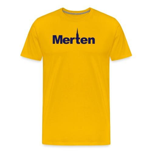Merten Schriftzug - Männer Premium T-Shirt