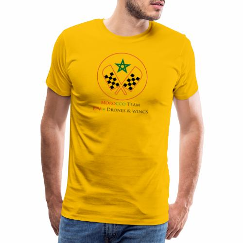 Official Morocco Drone Team - T-shirt Premium Homme