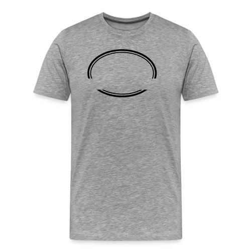Kreis offen - Männer Premium T-Shirt