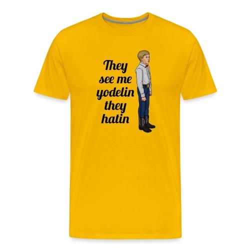 Tenn1sTv Yodelin Kid - Men's Premium T-Shirt