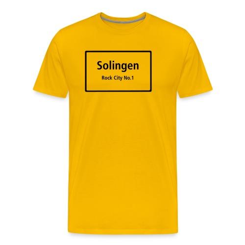 Solingen Rock City No.1 - Männer Premium T-Shirt