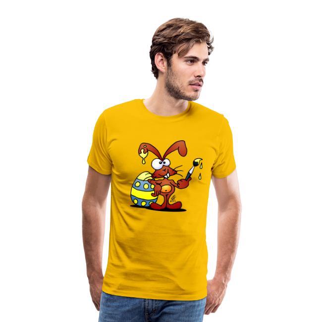 Lapin de Pâques - T-shirt Premium Homme