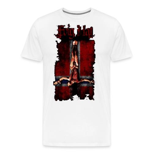evig hat shirt - Premium T-skjorte for menn
