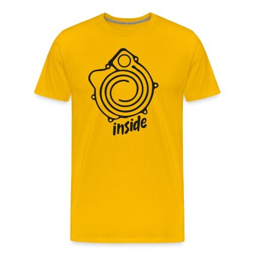 G-Lader inside schwarz - Männer Premium T-Shirt