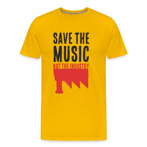 Save the Music - T-shirt Premium Homme
