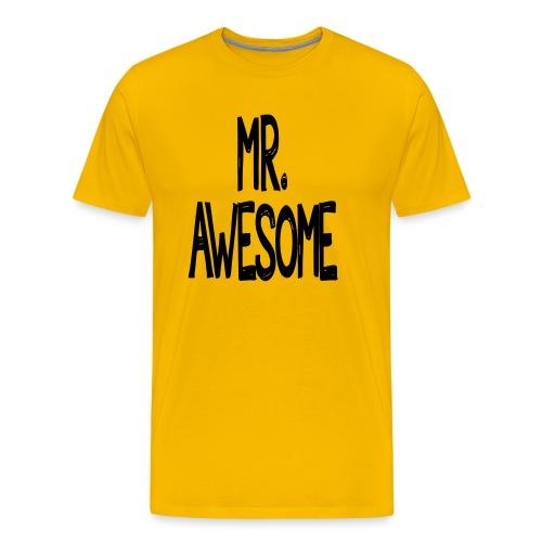 mr awesome - Koszulka męska Premium