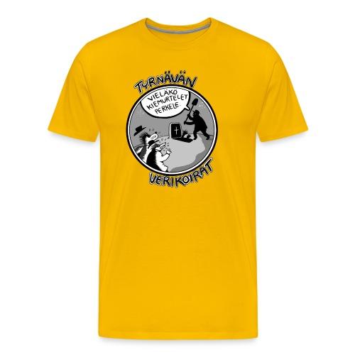 Tyrnävän verikoirat 5 - Miesten premium t-paita