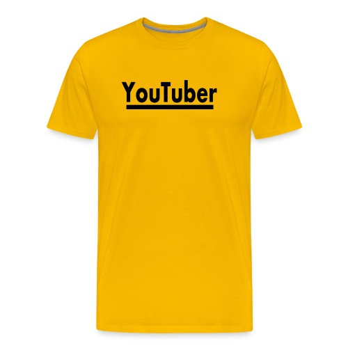 youtuber film youtube - Männer Premium T-Shirt