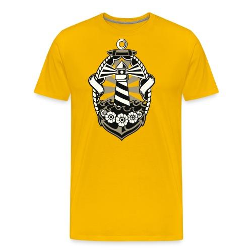 Leuchtturm - Männer Premium T-Shirt