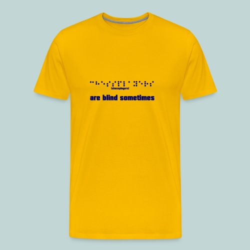 braille__chessplayers_2 - Männer Premium T-Shirt