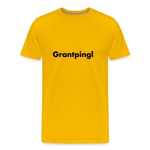 grantpingl schwarz - Männer Premium T-Shirt