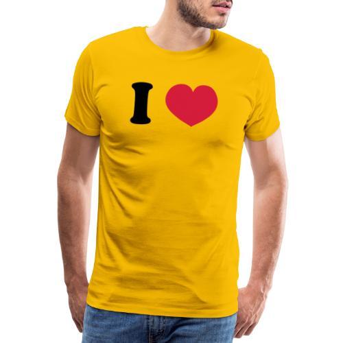 ilovecooperblck - Mannen Premium T-shirt