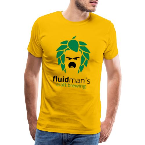 Fluidman's Craft Brewing - Männer Premium T-Shirt