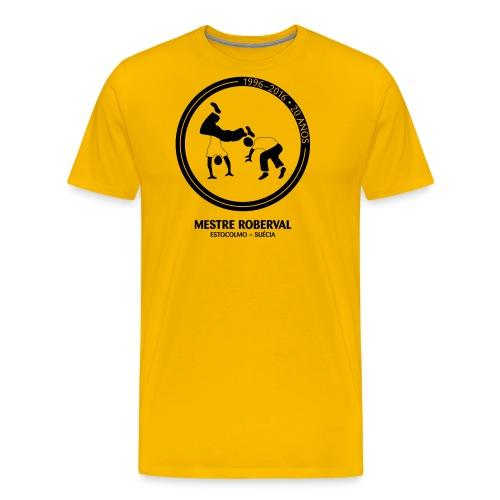 20 anos na Suécia - Premium-T-shirt herr