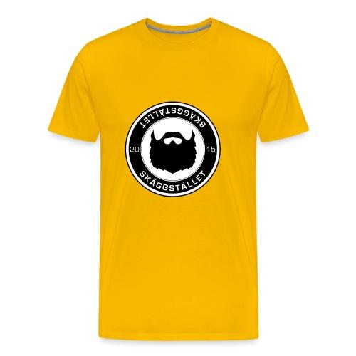 Skäggstället - Premium-T-shirt herr