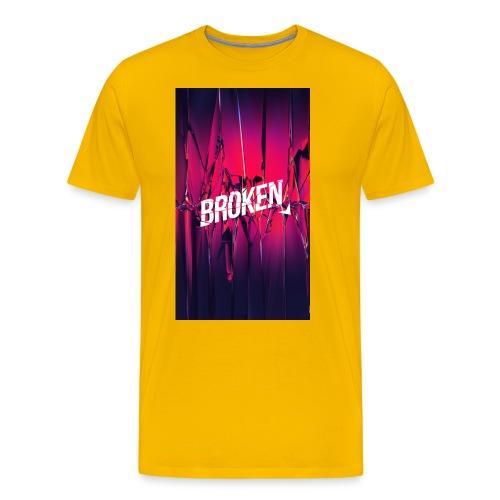 Broken T-Shirt - Männer Premium T-Shirt
