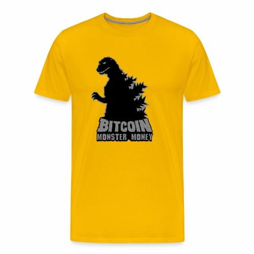 Bitcoin Monster Money - Men's Premium T-Shirt