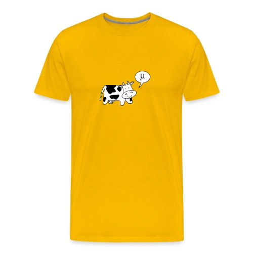 The Cow says Mu - Men's Premium T-Shirt