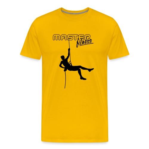 masterfitness_logo_kletterer - Männer Premium T-Shirt
