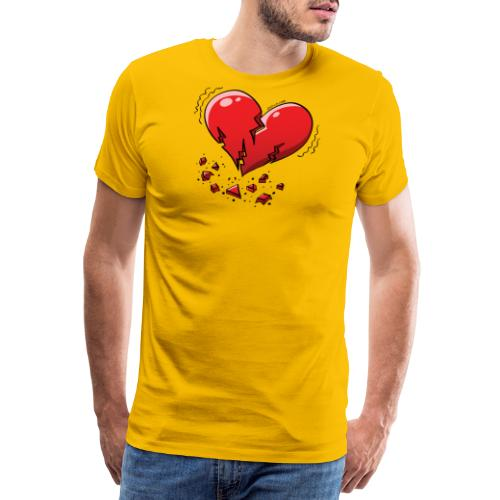 Heartquake - Men's Premium T-Shirt