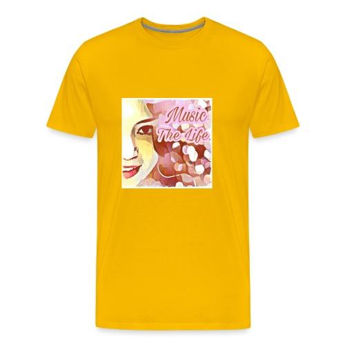 Music The Life - Männer Premium T-Shirt